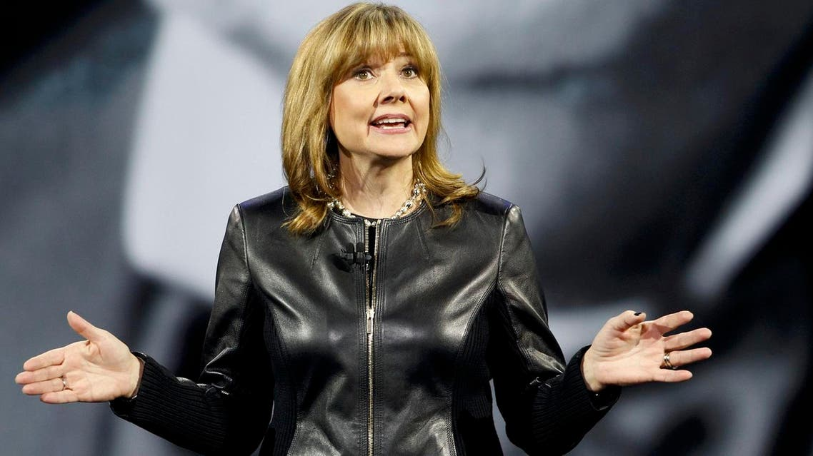 Mary Barra, Chairman and CEO of General Motors, and one of three female Co-Chairs at Davos 2016. (Reuters)