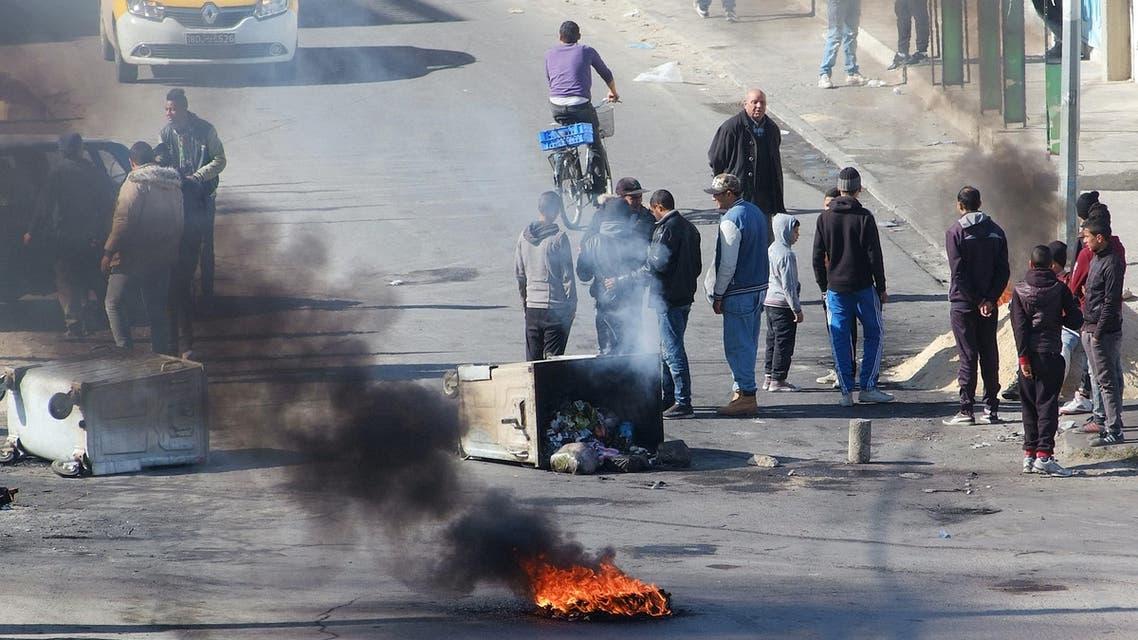 تونس القصرين احتجاجات البطالة