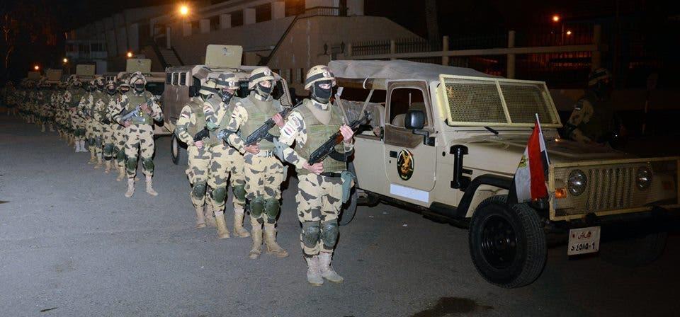 انتشار الجيش المصري في سيناء