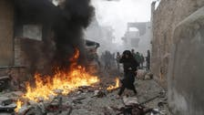 Russian or Syrian air raids kill dozens in east