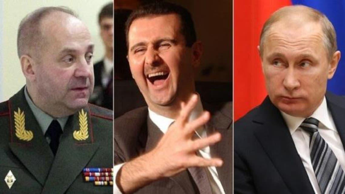 بوتين أوفد الجنرال سرغون بمهمة سرية إلى دمشق