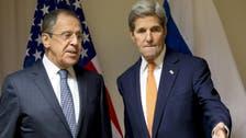 كيري يبحث مع لافروف كيفية تعزيز الهدنة في سوريا