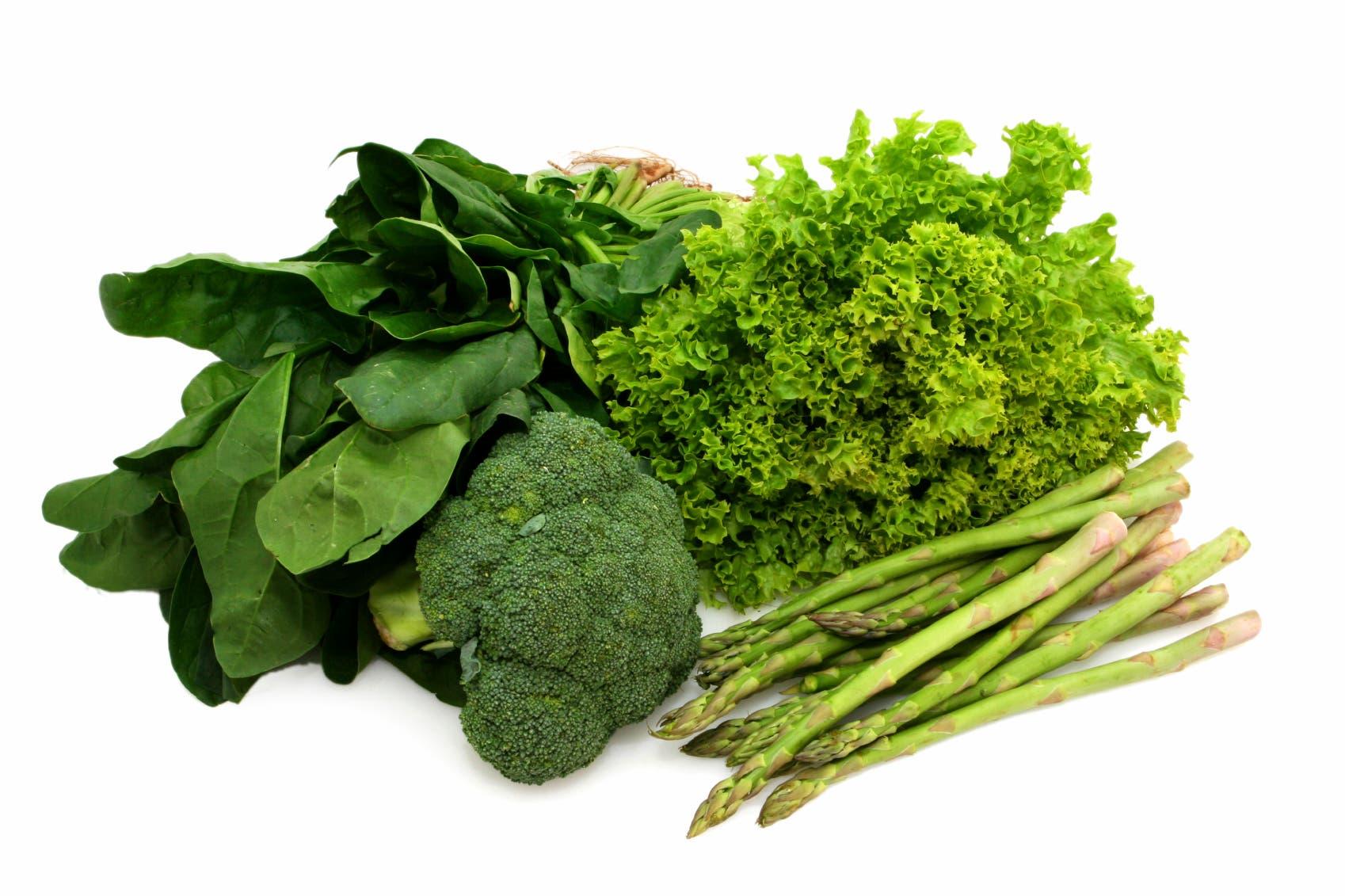 الخضروات الورقية