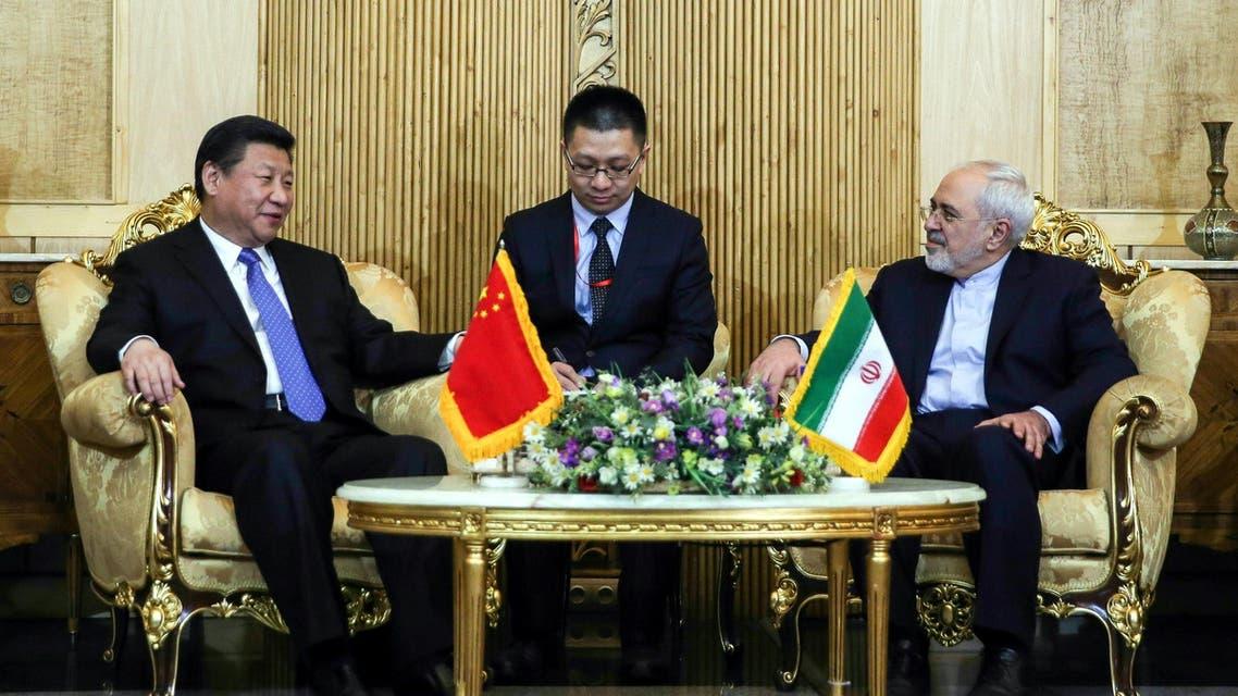 الرئيس الصيني في إيران لتحسين العلاقات اقتصاديا وسياسيا