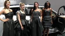 Designer makes gowns out of car interior material