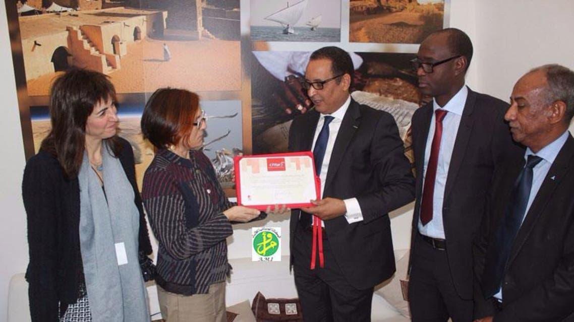 تكريم السياحة الموريتانية بمهرجان إسبانيا