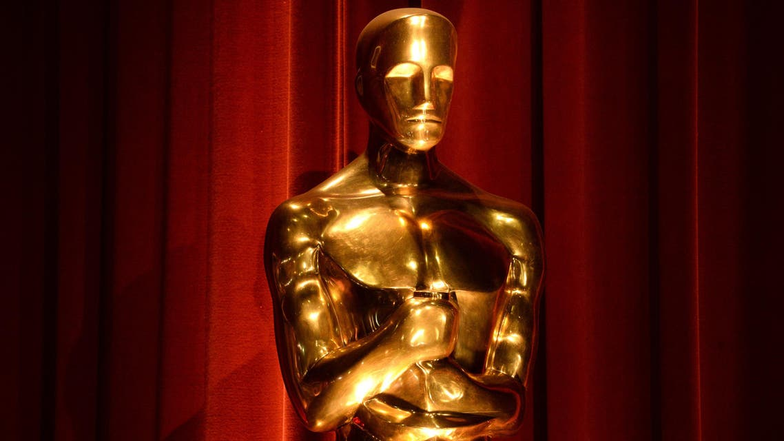 An Oscar statue is seen during the nominations announcements for the 88th Academy Awards in Beverly Hills, California January 14, 2016. reuters