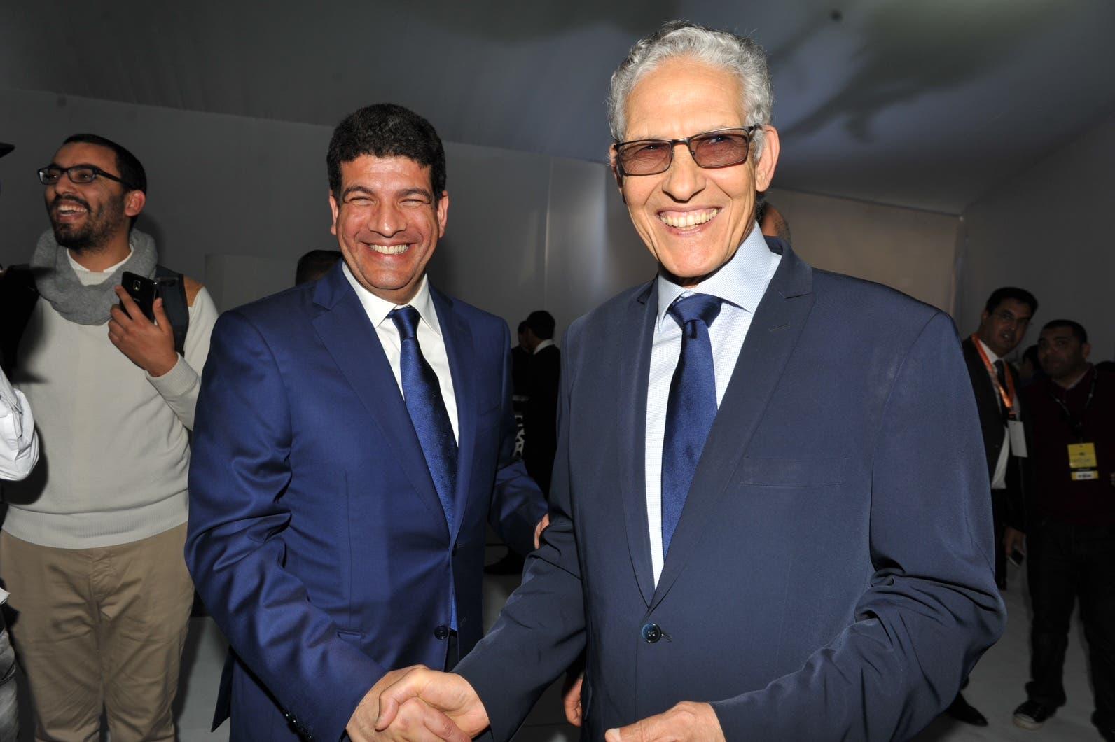 حسن الداودي، وزير التعليم العالي، ممثل حزب العدالة والتنمية، في مؤتمر الاصالة والمعاصرة