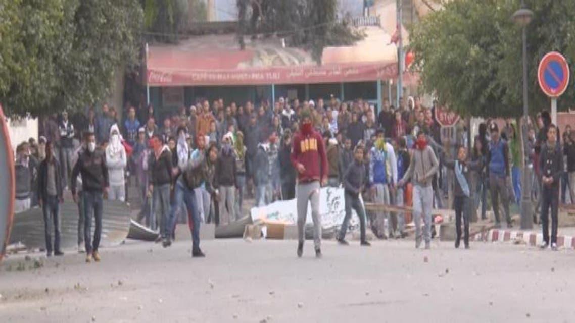 THUMBNAIL_ هدوء حذر يسود معظم مناطق تونس