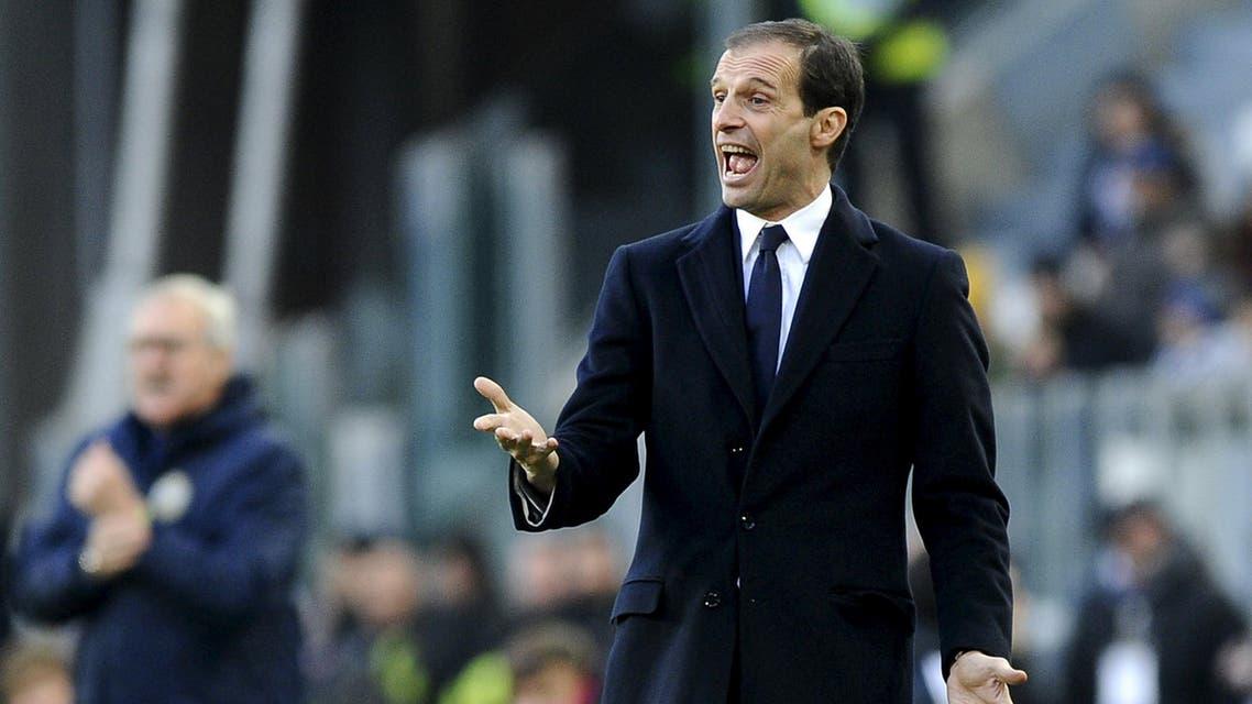 Juventus' coach Massimiliano Allegri reuters