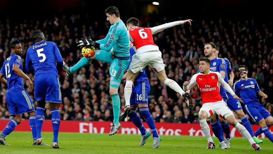 Chelsea damages Arsenal's title push by winning derby 1-0