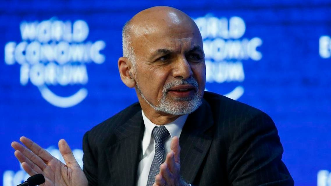 Afghanistan's President Ashraf Ghani attends the annual meeting of the World Economic Forum (WEF) in Davos, Switzerland January 22, 2016 (Reuters)