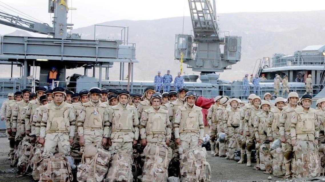 القوات المصرية السعودية