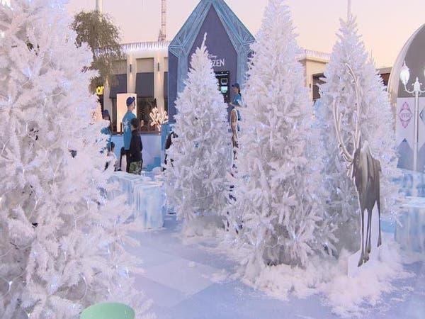 دبي تحتضن حديقة frozen خلال شهر التسوق