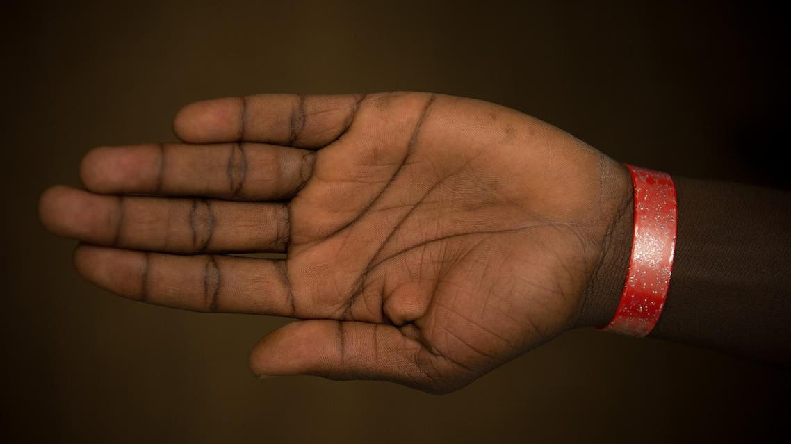 Wristband, Asylum, UK (Courtesy: Gareth Everett/Huw Evans Agency)