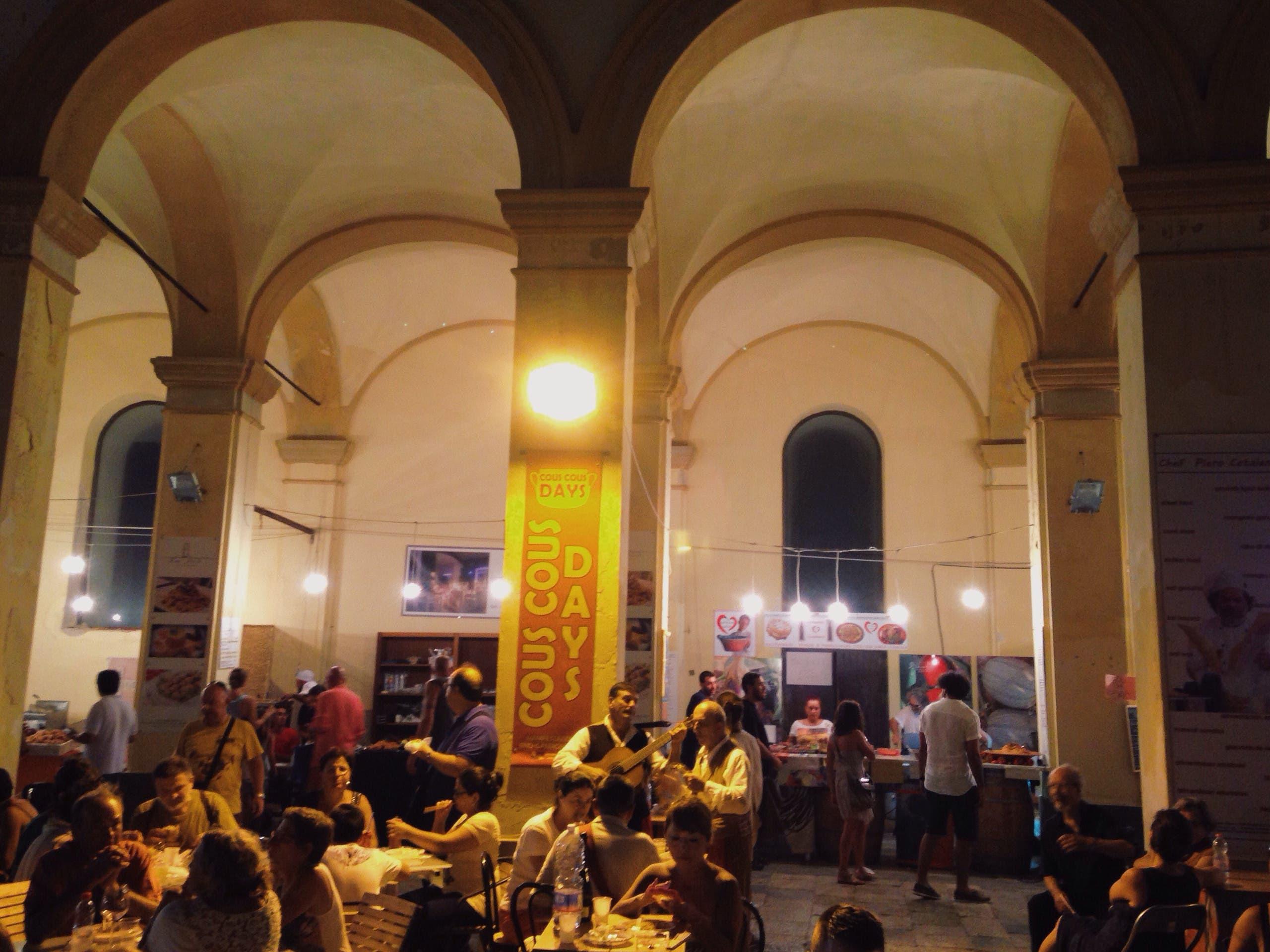 When we bumped into Couscous days festival in Trapani. (Yorva Tsiakara)