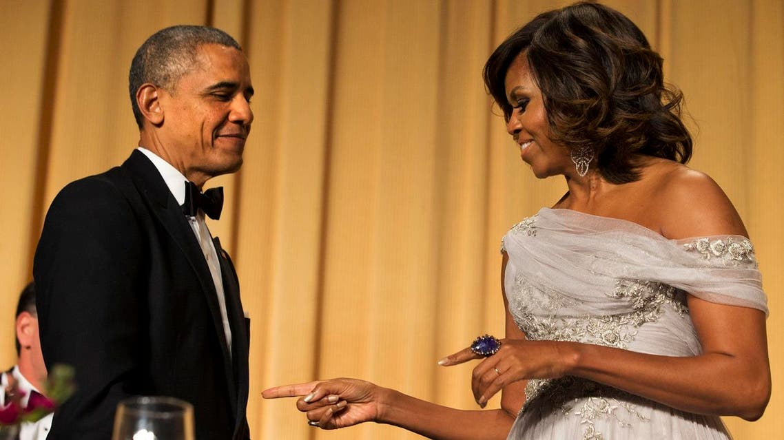 The Obamas haven't yet seen the film, but Tanne said he's heard that they're aware of it. (AP)