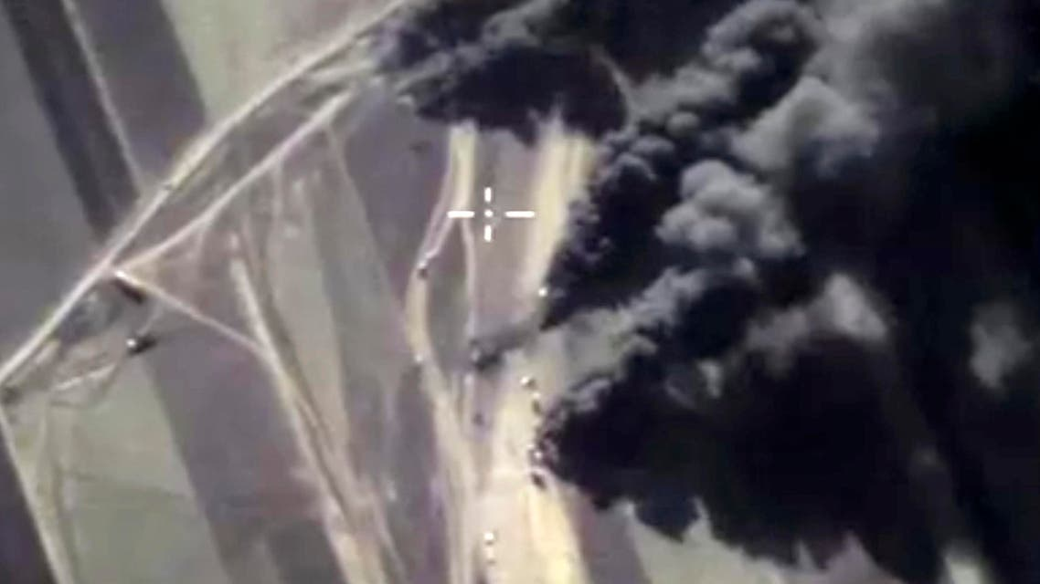 In this photo made from the footage taken from Russian Defense Ministry official web site on Friday, Dec. 25, 2015. (AP)