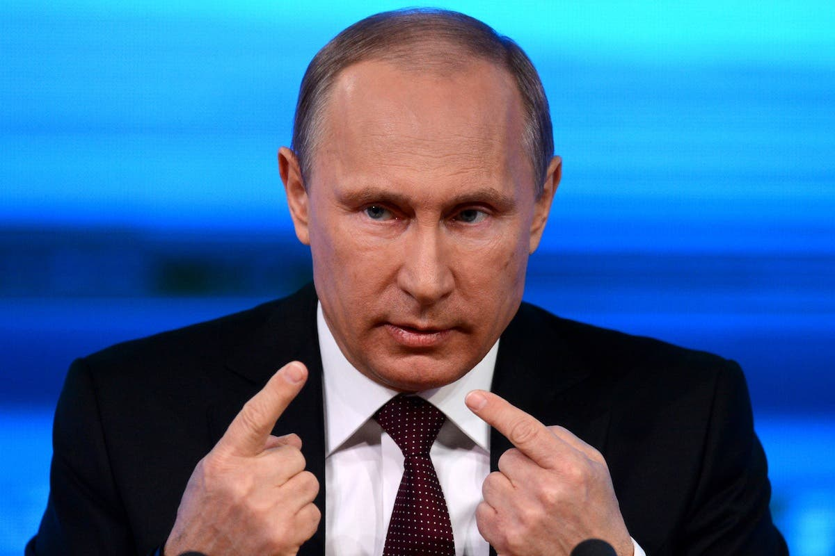 Russian President Vladimir Putin. (File photo: AFP)