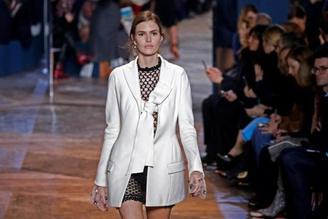 paris fashion show reuters