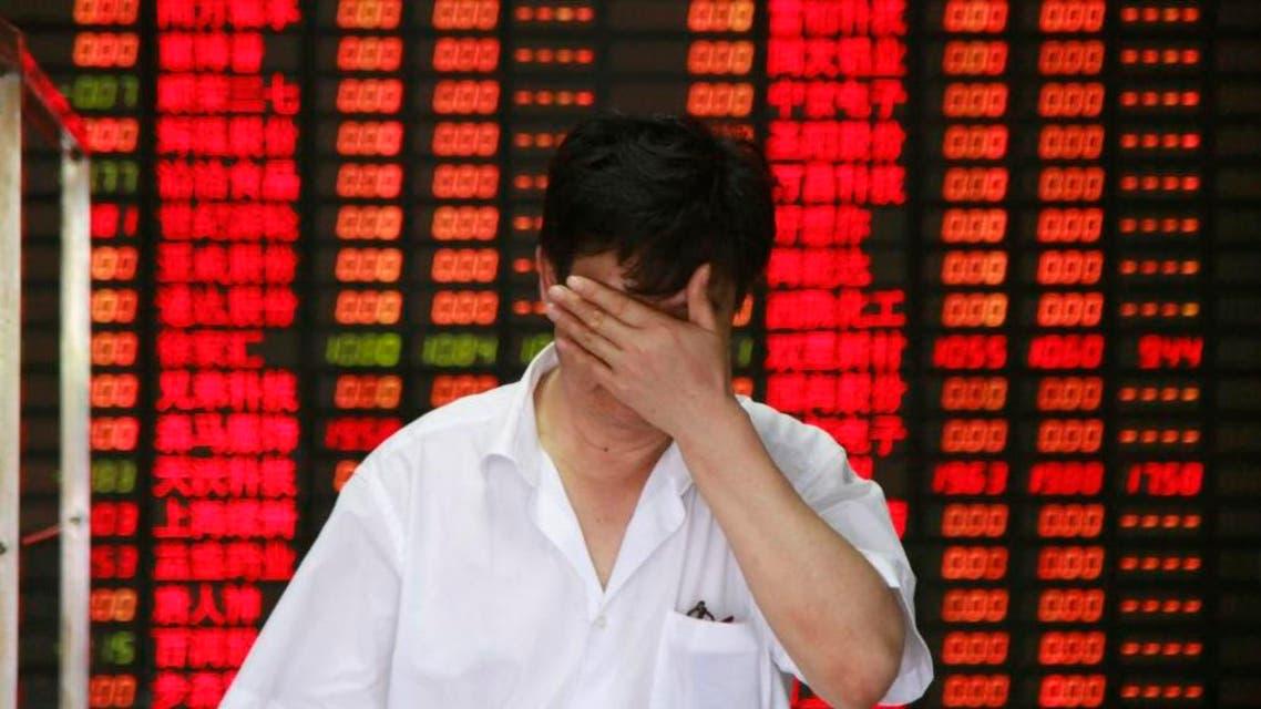 السوق الصينية - بورصة - خسائر
