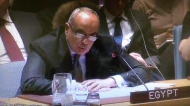 مصر: فلسطين على طاولة مجلس الأمن منذ 70 عاماً.. دون حل
