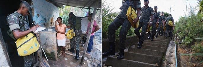 جنود الجيش البرازيلي نزلوا الى الميدان لمكافحة أشرس الفيروسات تشويها للمواليد