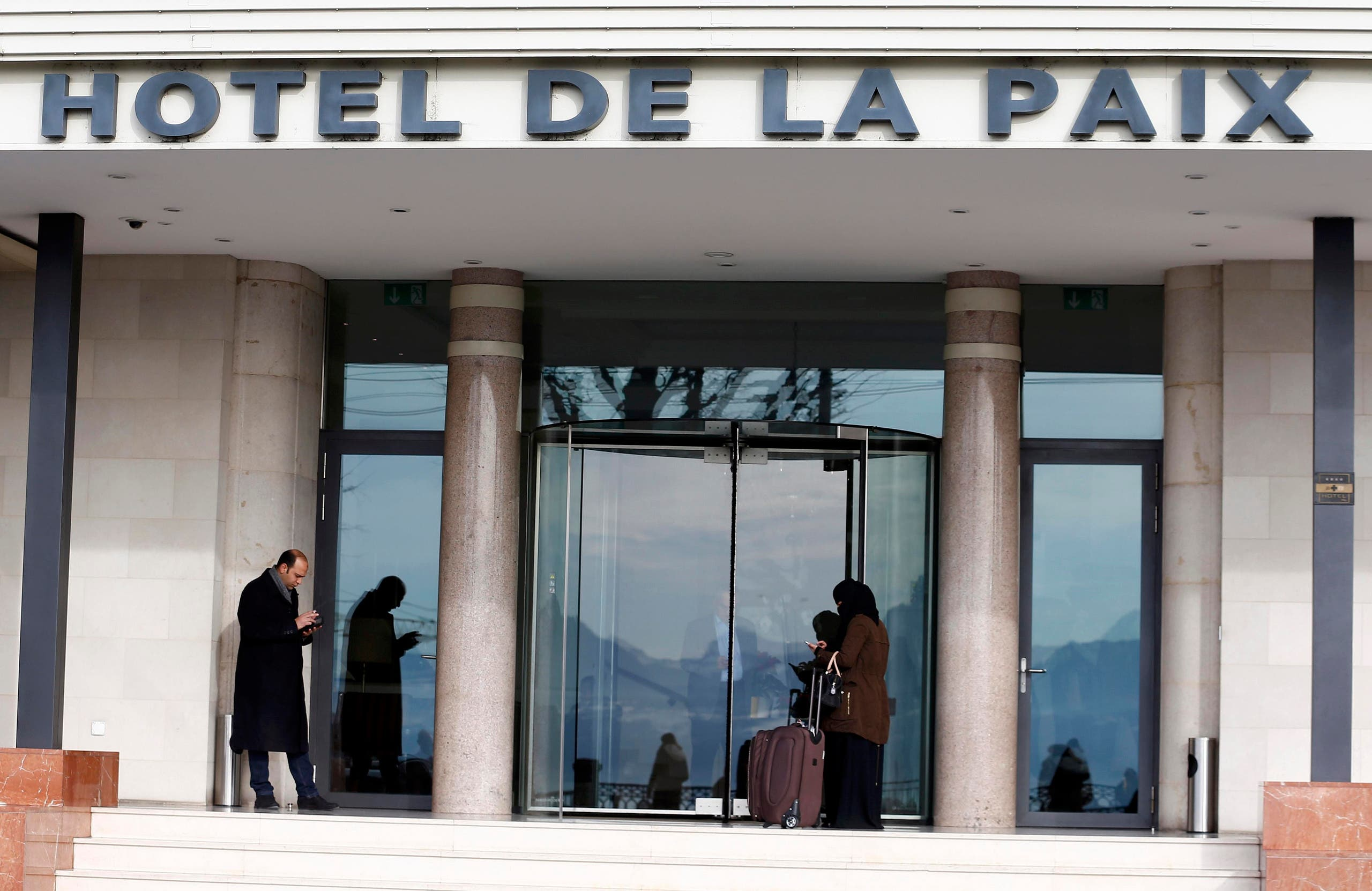 hotel de la paix reuters