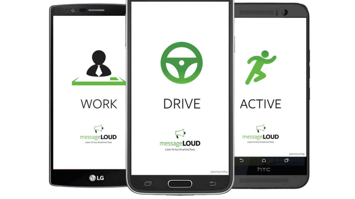 تطبيق messageLOUD لقراءة الرسائل النصية أثناء القيادة