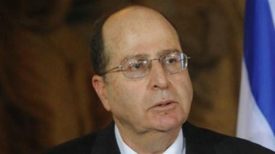 وزير الدفاع الإسرائيلي موشي يعلون