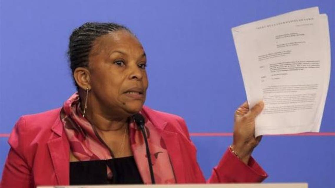 Taubira was often at odds with her government on policy. (File photo: Reuters)