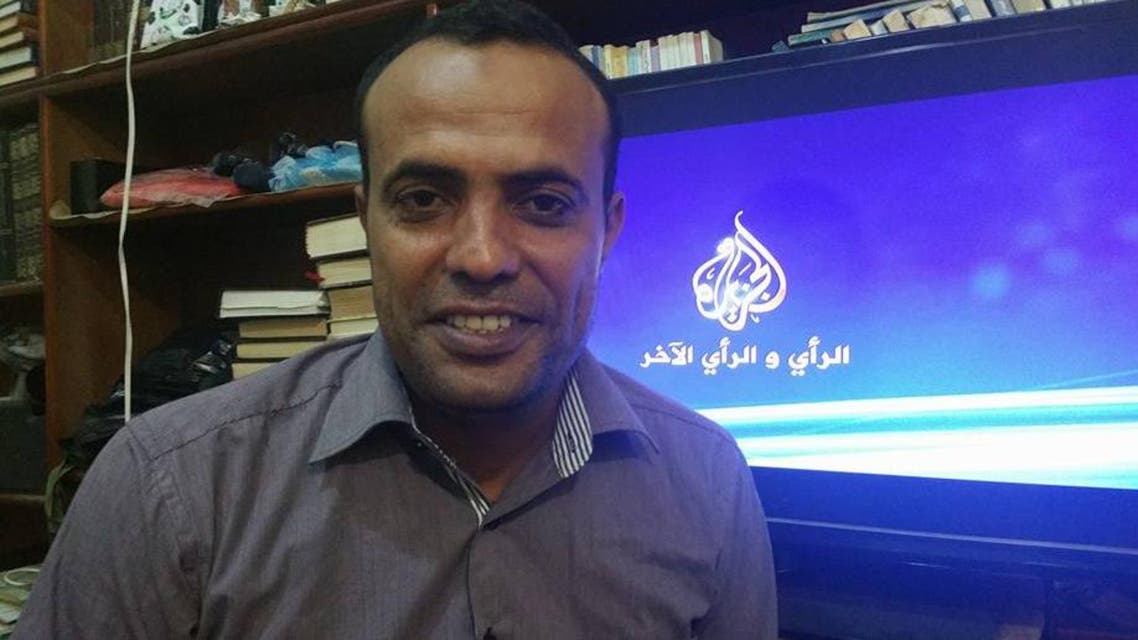 Reporter Hamdi al-Bokari said he and his crew were subjected to 'terrible mental torture' by the Houthis. (via Facebook)