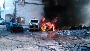 قتيل وجرحى بانفجار سيارة مفخخة أمام الخارجية في عدن