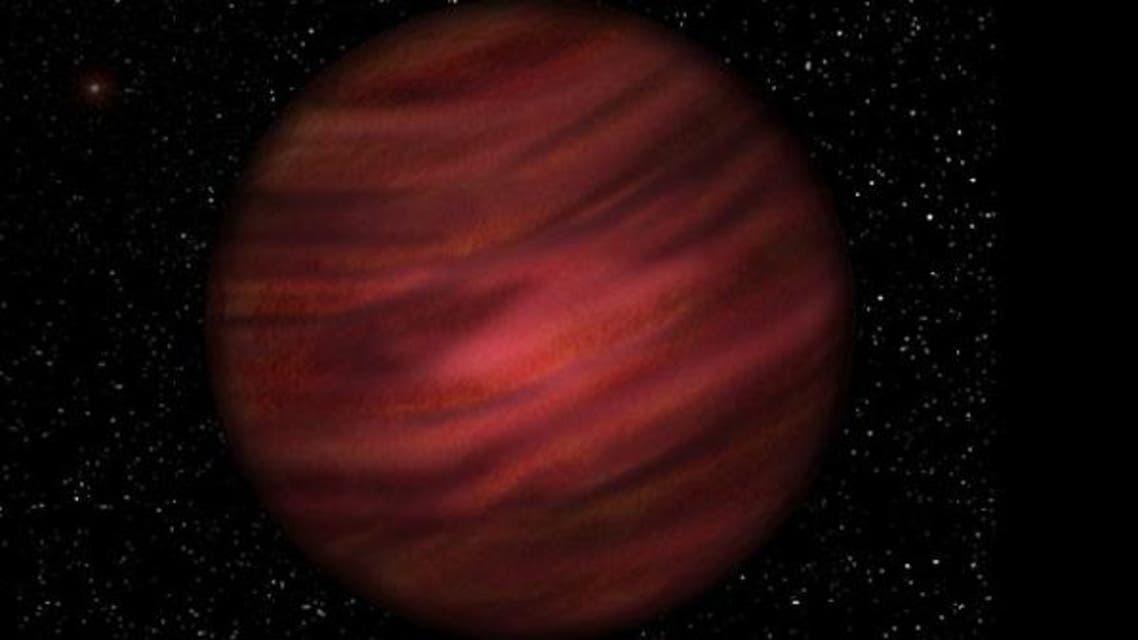 حجم الكوكب كما تخيلوه أكبر 12 الى 15 مرة من أكبر كواكب المجموعة الشمسية