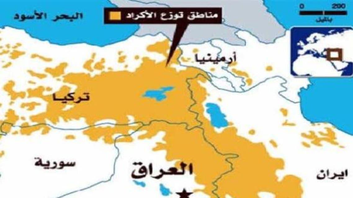 خارطة كردستان الكبرى