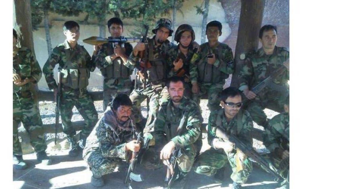 مقاتلون أفغان سوريا