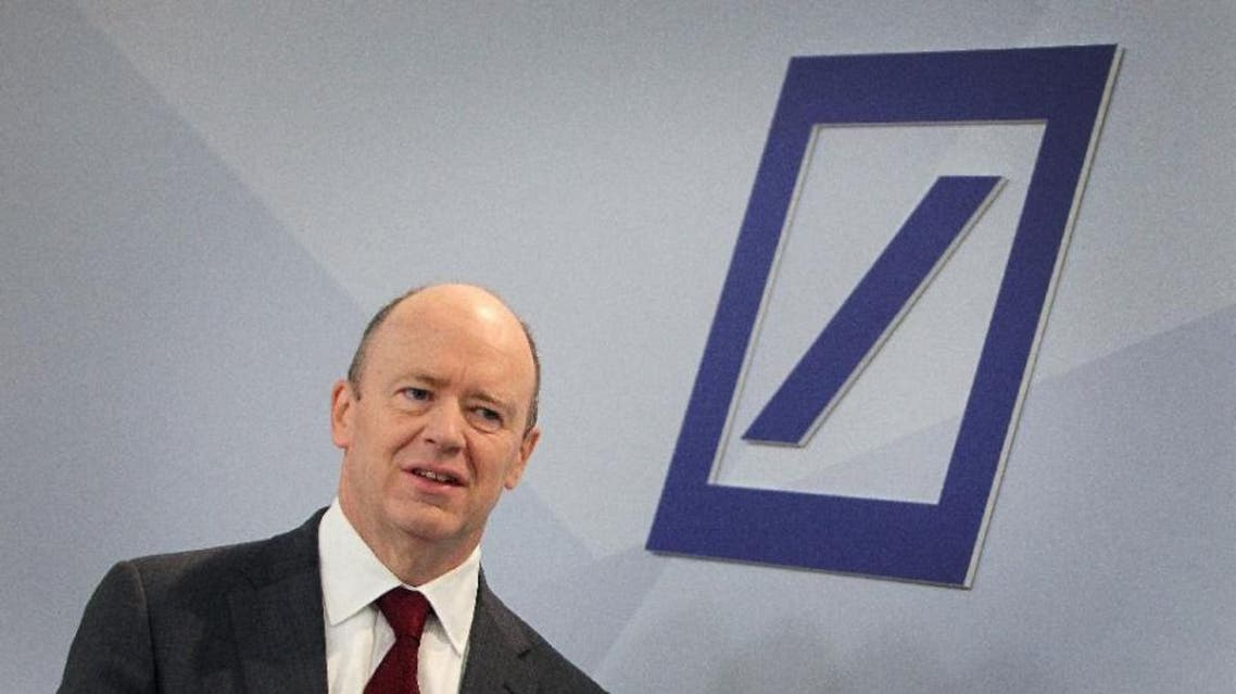 John Cryan, co-chief executive of Germany's biggest lender Deutsche Bank, pictured prior to a news conference at the company's headquarters in Frankfurt, western Germany, on October 29, 2015 (AFP)