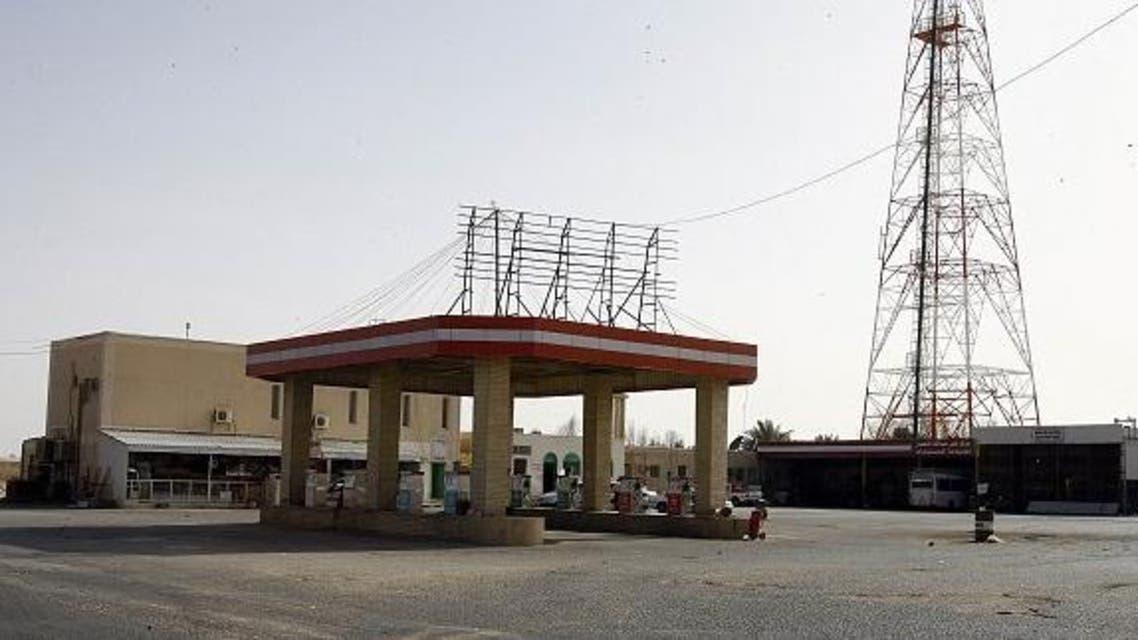 محطة وقود في مكة