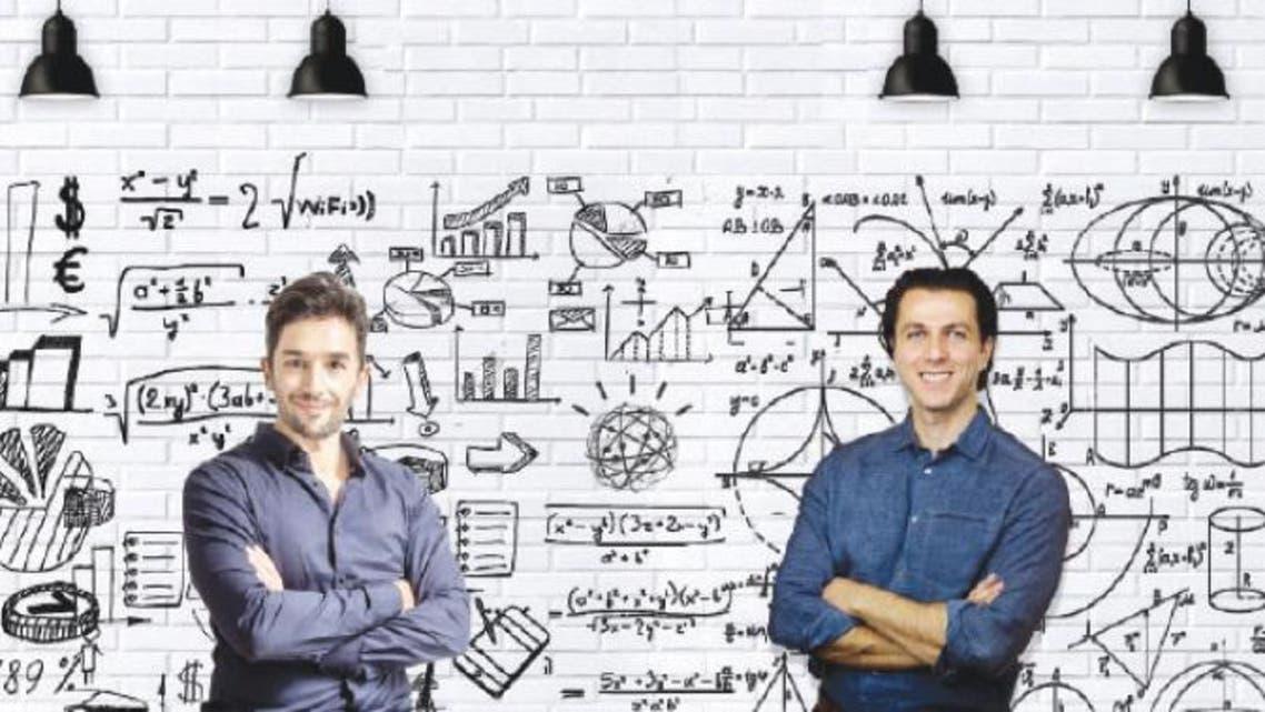 From left to right: Deniz Erkan co-founder of Jawabkom and Raed Malhas co-founder and CEO of Jawabkom. — Courtesy photo