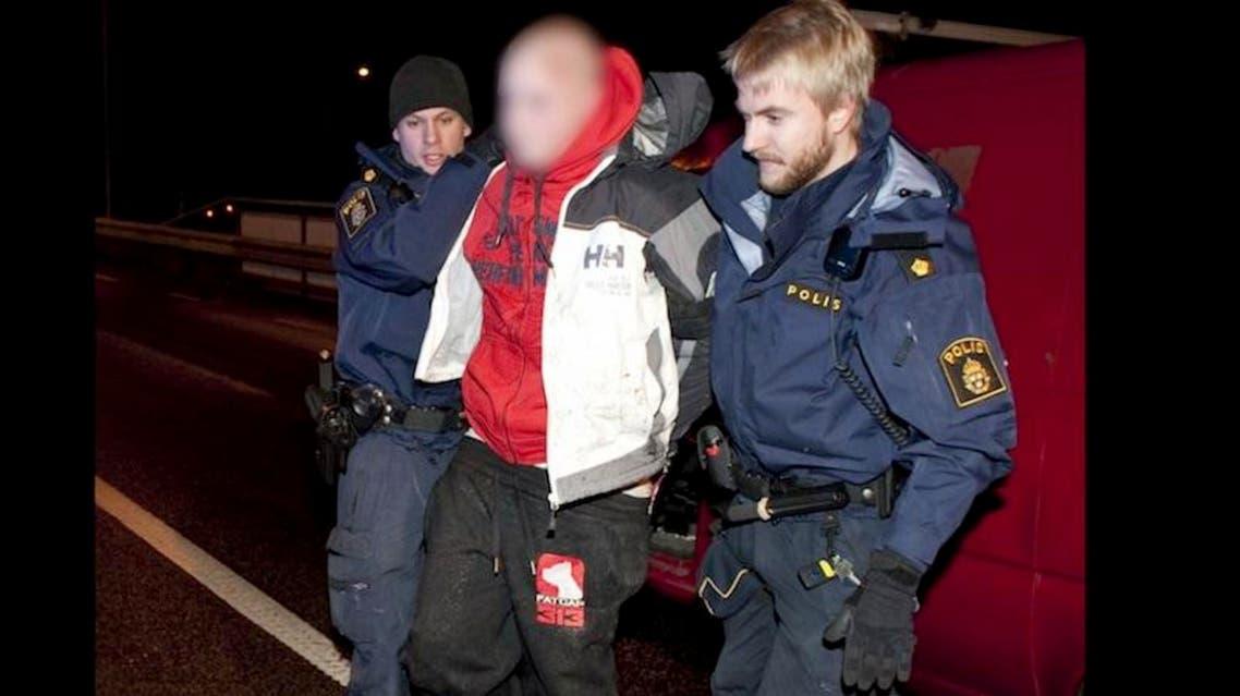 الشرطة السويدية تعتقل