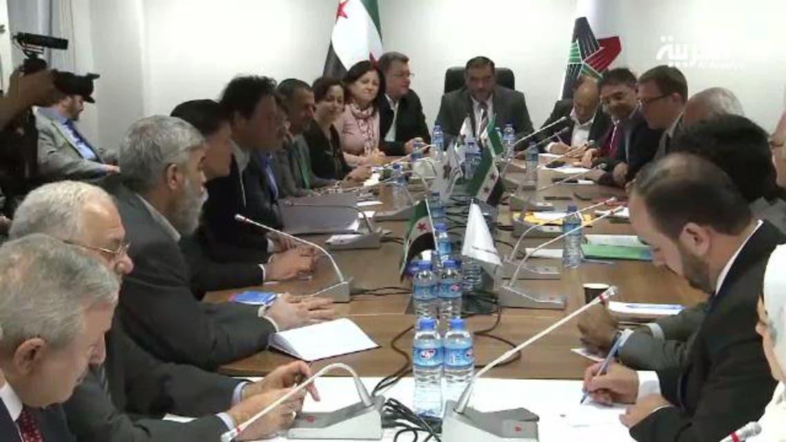 شامی اپوزیشن،جنیوا مزاکرات