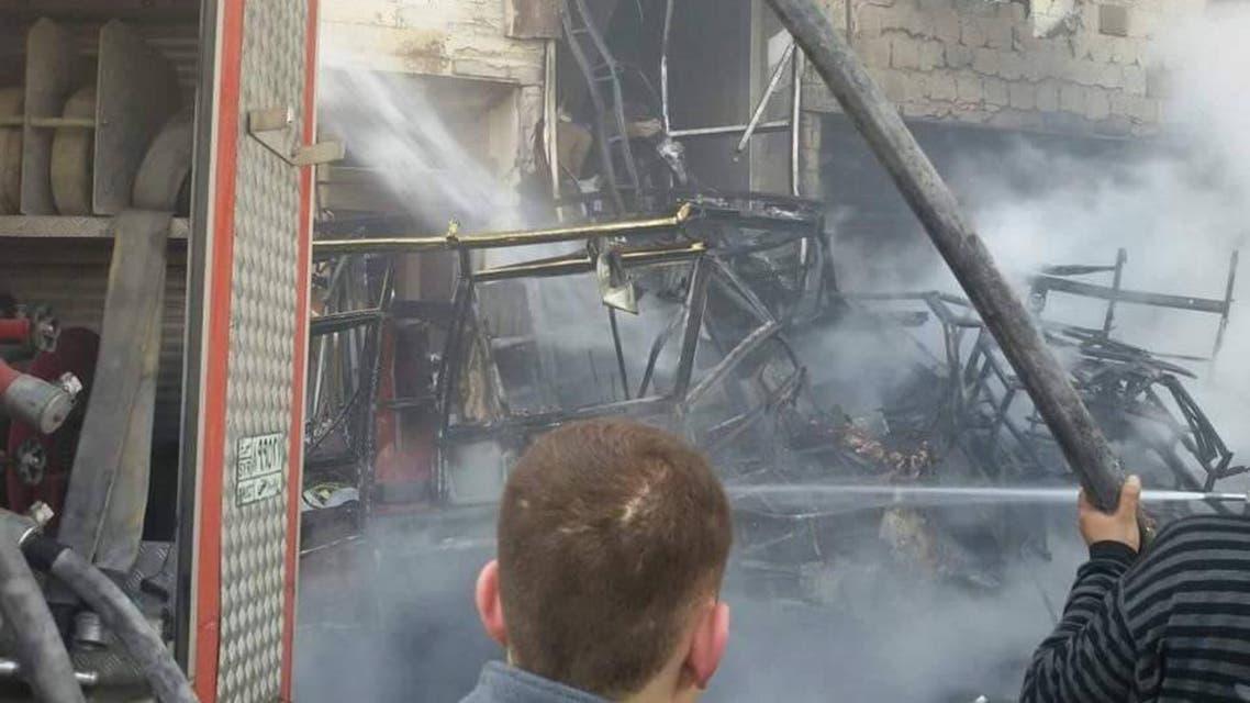 8 قتلى بتفجيرين استهدفا منطقة السيدة زينب جنوب دمشق
