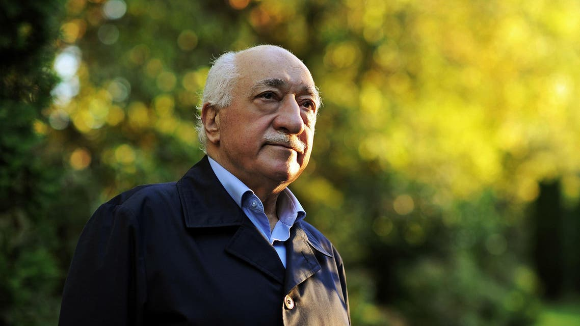 FILE - In this Sept. 24, 2013 file photo, Turkish Islamic preacher Fethullah Gulen is pictured at his residence in Saylorsburg, Pennsylvania, United States. Police conducted raids in a dozen Turkish cities Sunday, detaining at least 24 people — including journalists, TV producers and police — known to be close to a movement led by a U.S.-based moderate Islamic cleric who is a strong critic of President Recep Tayyip Erdogan. It was the latest crackdown on cleric Fethullah Gulen's movement, which the government has accused of orchestrating an alleged plot to try to bring it down. (AP Photo/Selahattin Sevi, File)