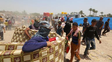 العراق.. عشائر الفلوجة تناشد الحكومة إجلاء العائلات