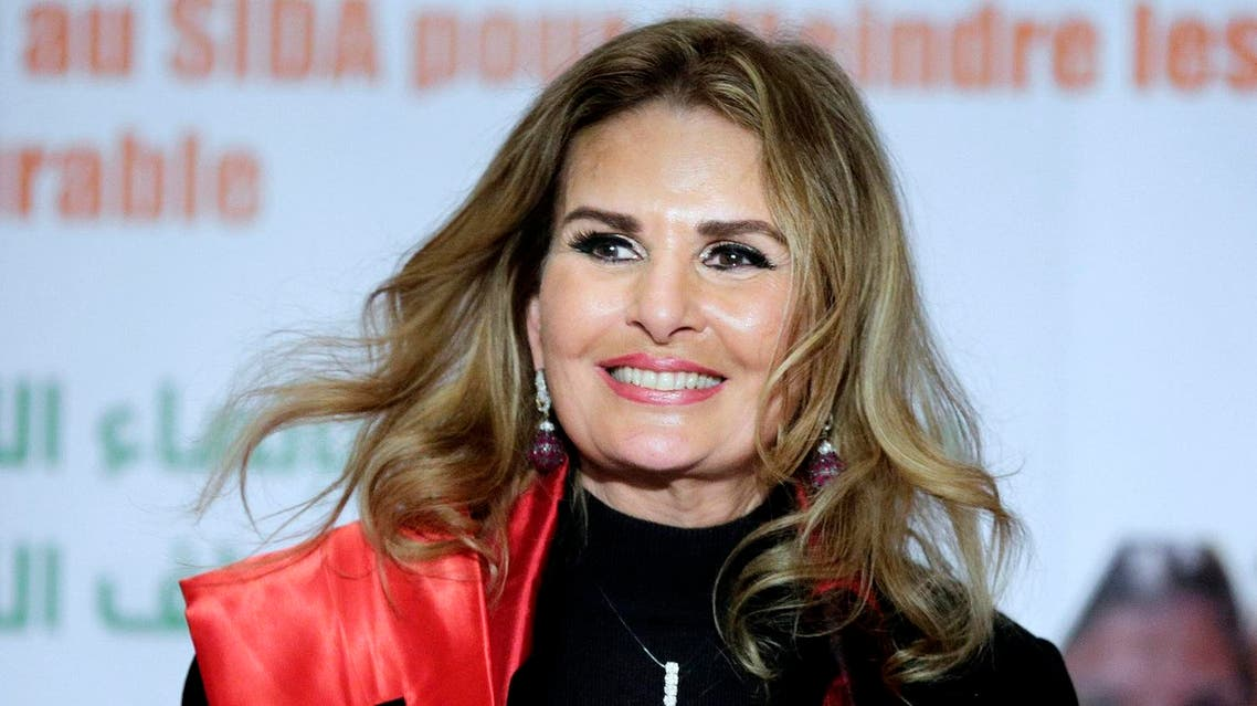 In this Sunday, Jan. 31, 2016 photo, Egyptian film star Yousra smiles after being appointed as U.N. Goodwill Ambassador in Middle East and North Africa during a ceremony in Cairo. AP