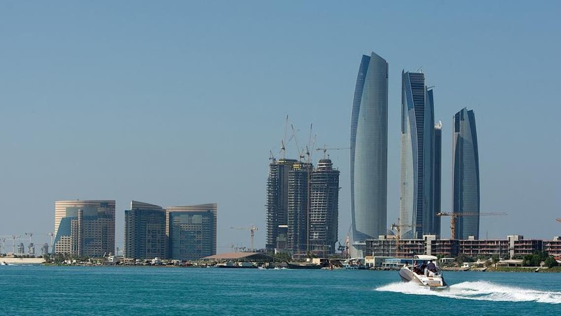 In this photo taken by AP Images for Abu Dhabi Tourism Authority (ADTA), a view of the skyline is seen from the water in Abu Dhabi, United Arab Emirates, Saturday, Nov. 12, 2011. (Nousha Salimi/AP Images for Abu Dhabi Tourism Authority (ADTA))