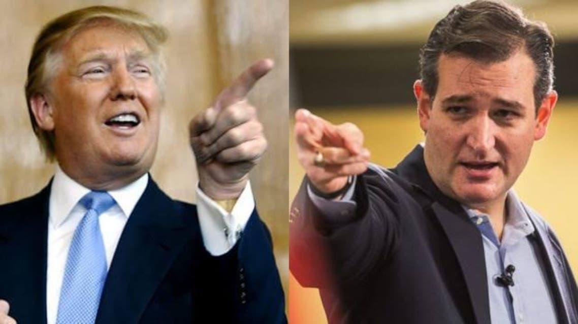 تيد كروز و دونالد ترامب 3