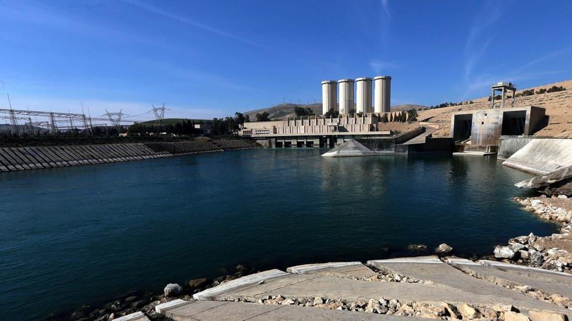 Mosul dam  (AFP)