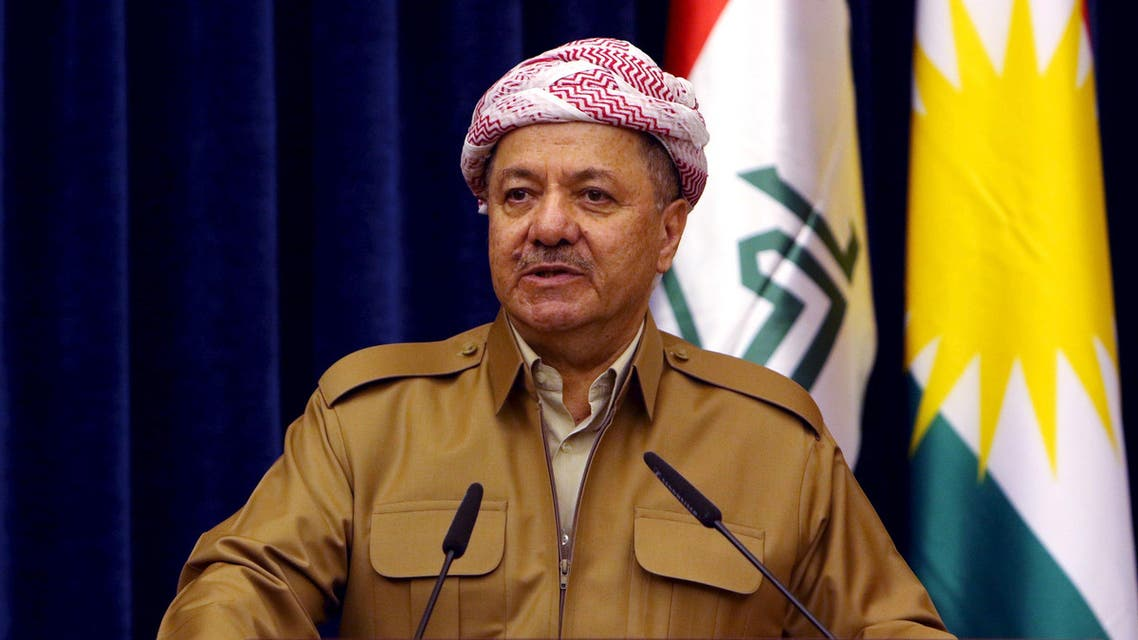 Massoud Barzani has previously called for a referendum but set no timetable for a proposed vote. (File photo: Reuters)
