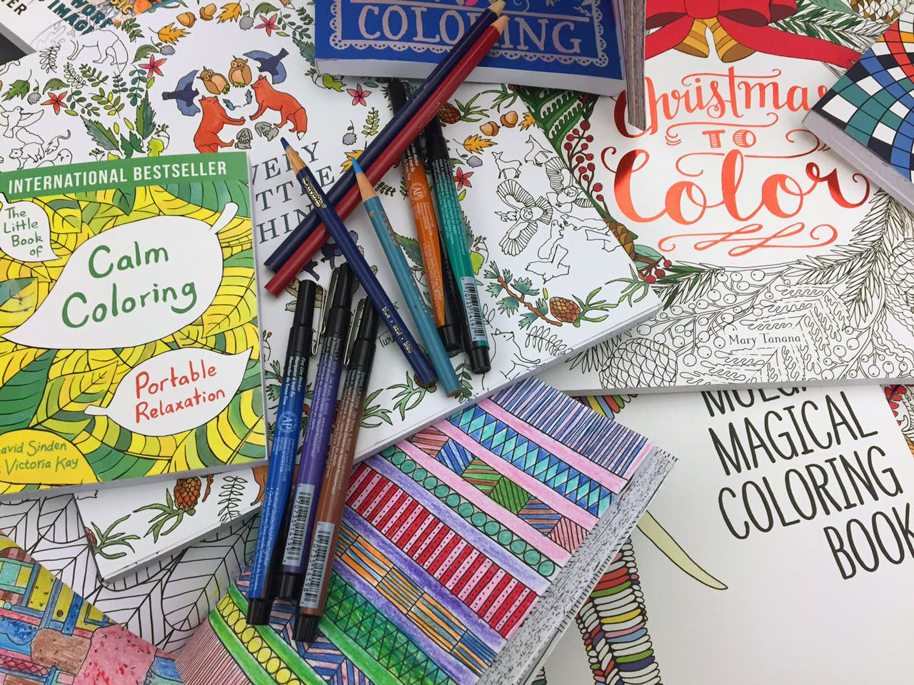 Stressed Out Adults Turn To Coloring Book Craze In America